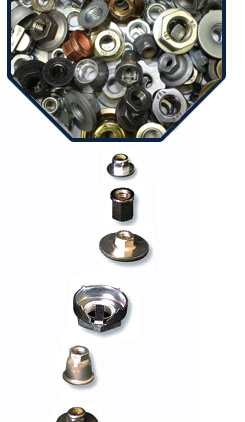 Nuts, Parts to standard and simular to standard, Weldnuts und Special-Parts of course from Schuhl & Co.