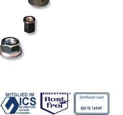Nuts from Schuhl & Co. Certified to ISO9001/TS16949